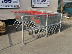 Trolley bay 2 - Cycle Racks and Trolley Bays