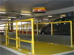 High visibility trolley bay - Cycle Racks and Trolley Bays
