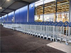 Interclamp - cycle racks and trolley bays 6