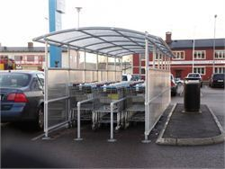 Interclamp - cycle racks and trolley bays