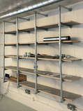 Studio Shelving with Interclamp websize