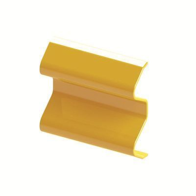 Armco Plastic End Cap Yellow