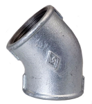 45 Degree Elbow Galvanised
