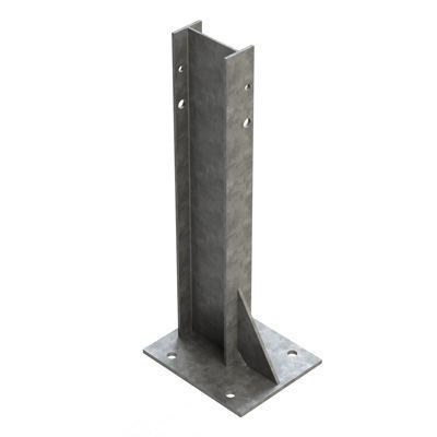 Armco Base Plated Post