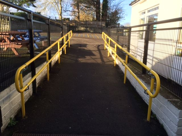 Interclamp Handrail System - Primary School