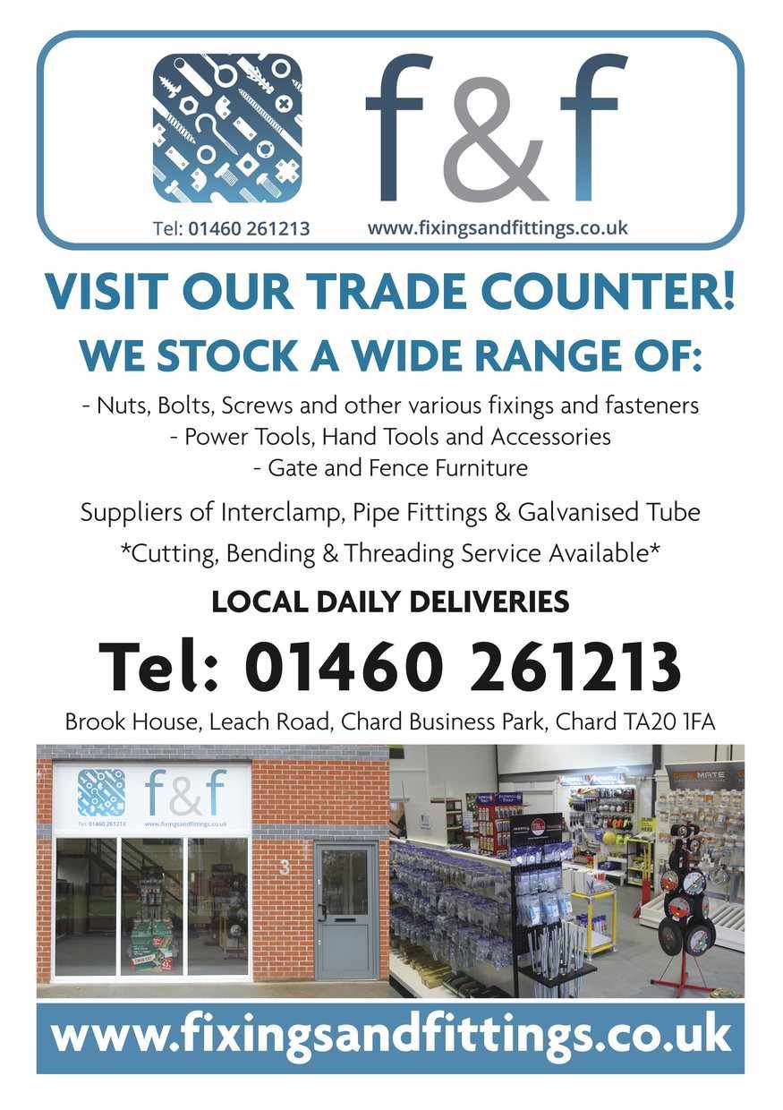 CHARD TRADE COUNTER - Now Open!