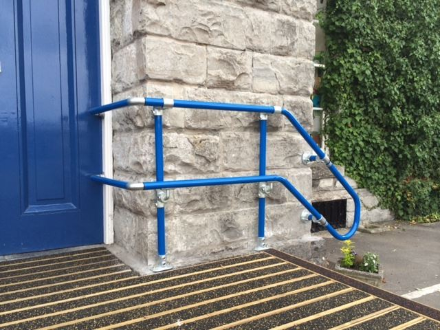Disability Portable Handrails : School handrails and disabled access ramps
